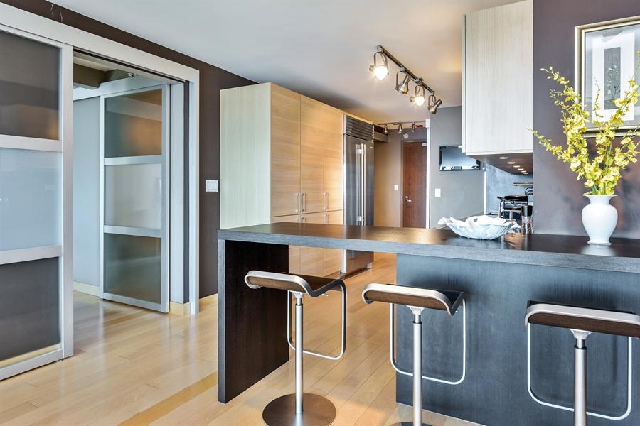 Real Estate Photography - 2 E Erie, 3005, Chicago, IL, 60611 - Kitchen