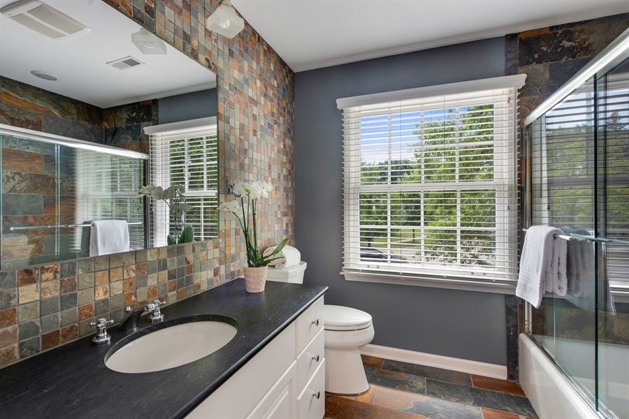 Real Estate Photography - 3004 Indianwood Rd, Wilmette, IL, 60091 - 4th Bathroom