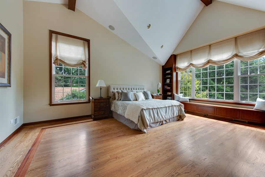 Real Estate Photography - 3004 Indianwood Rd, Wilmette, IL, 60091 - Master Bedroom