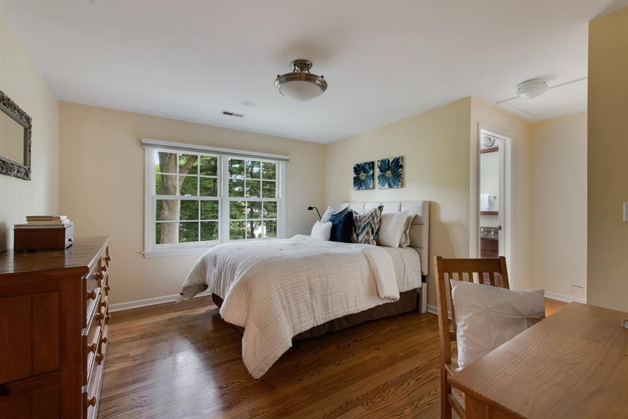 Real Estate Photography - 3004 Indianwood Rd, Wilmette, IL, 60091 - 2nd Bedroom