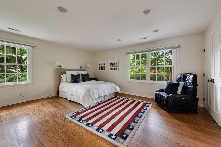 Real Estate Photography - 3004 Indianwood Rd, Wilmette, IL, 60091 - 3rd Bedroom
