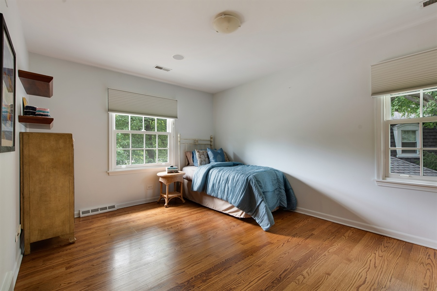 Real Estate Photography - 3004 Indianwood Rd, Wilmette, IL, 60091 - 4th Bedroom