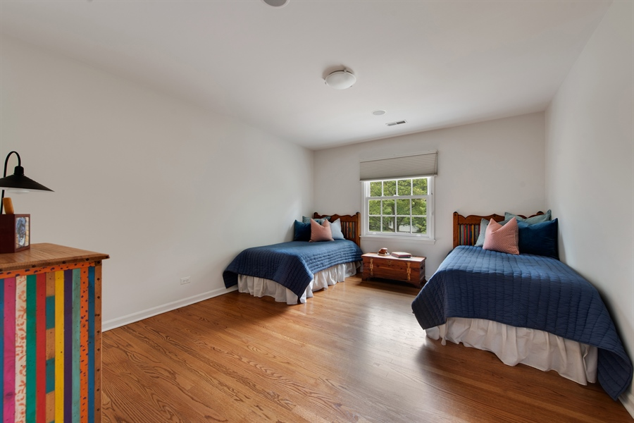 Real Estate Photography - 3004 Indianwood Rd, Wilmette, IL, 60091 - 5th Bedroom