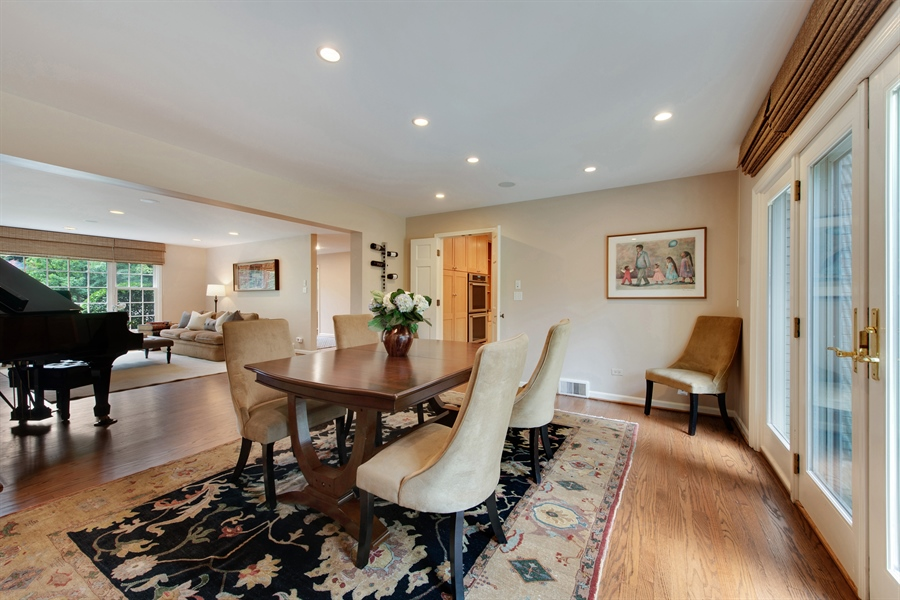 Real Estate Photography - 3004 Indianwood Rd, Wilmette, IL, 60091 - Dining Room