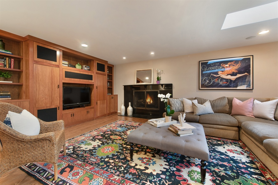 Real Estate Photography - 3004 Indianwood Rd, Wilmette, IL, 60091 - Family Room