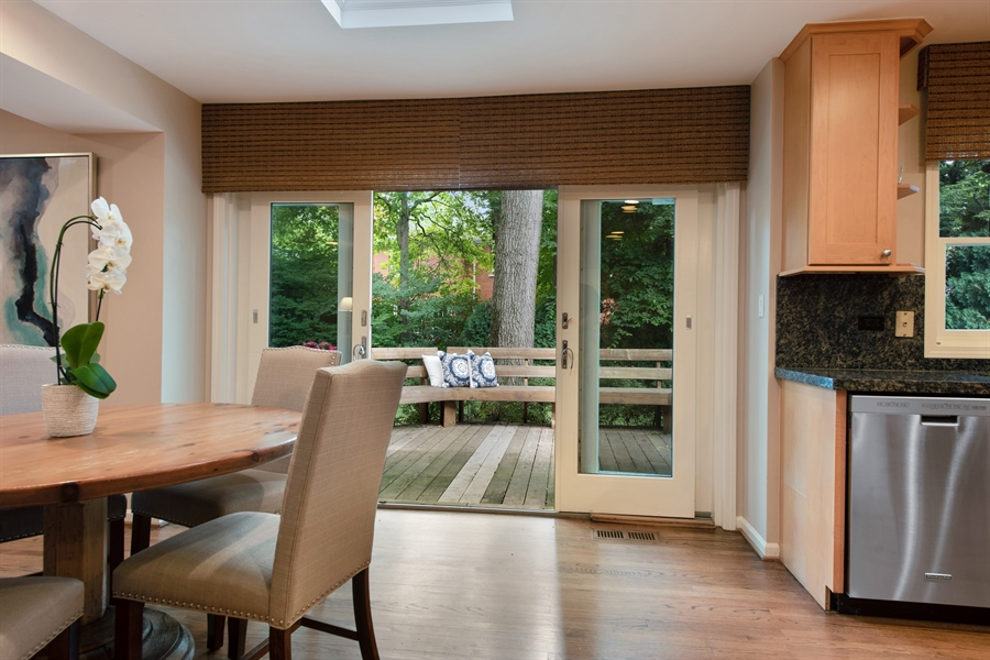 Real Estate Photography - 3004 Indianwood Rd, Wilmette, IL, 60091 - Breakfast Area