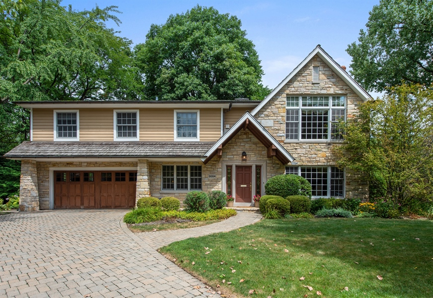 Real Estate Photography - 3004 Indianwood Rd, Wilmette, IL, 60091 - Front View