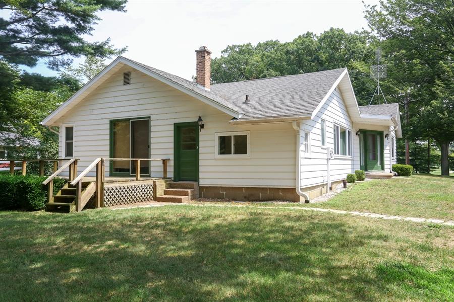 Real Estate Photography - 15206 Lakeside Rd, Lakeside, MI, 49116 - Rear View