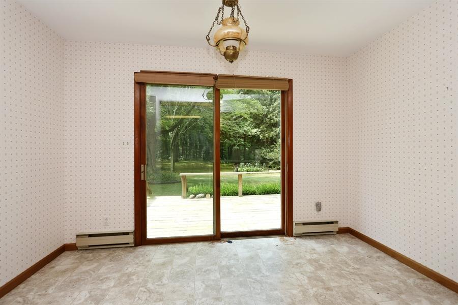 Real Estate Photography - 15206 Lakeside Rd, Lakeside, MI, 49116 - Breakfast Nook