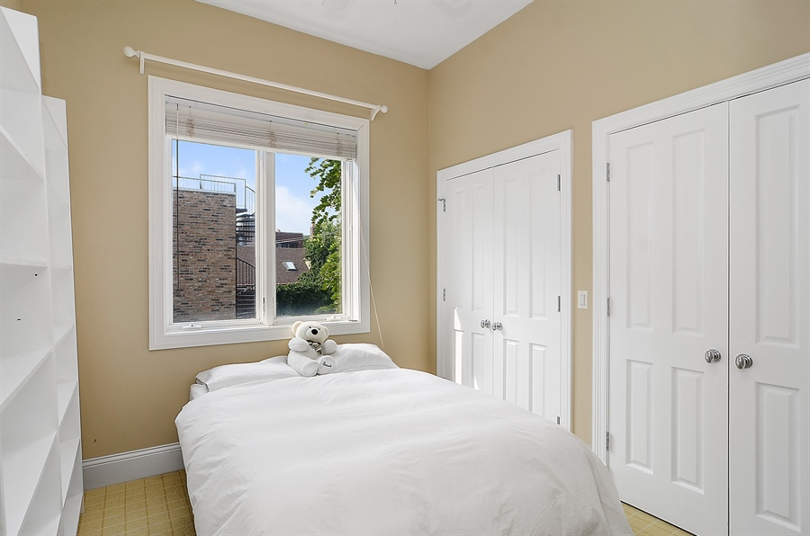 Real Estate Photography - 2226 N. Magnolia, Chicago, IL, 60614 - Second Bedroom