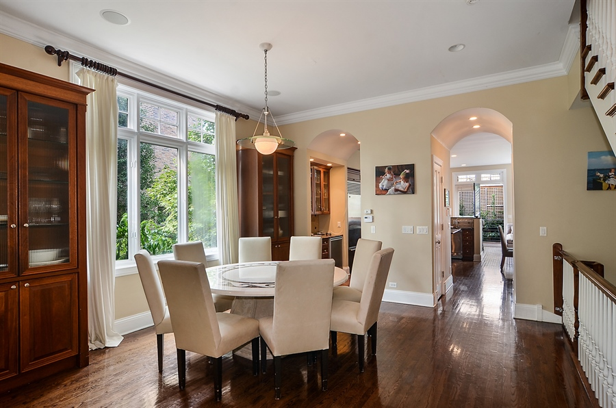 Real Estate Photography - 2226 N. Magnolia, Chicago, IL, 60614 - Formal Dining Room