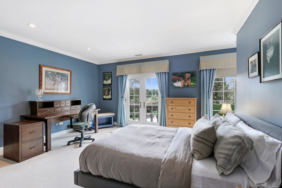 Real Estate Photography - 700 Crab tree Ln, Lake Bluff, IL, 60044 - 4th Bedroom