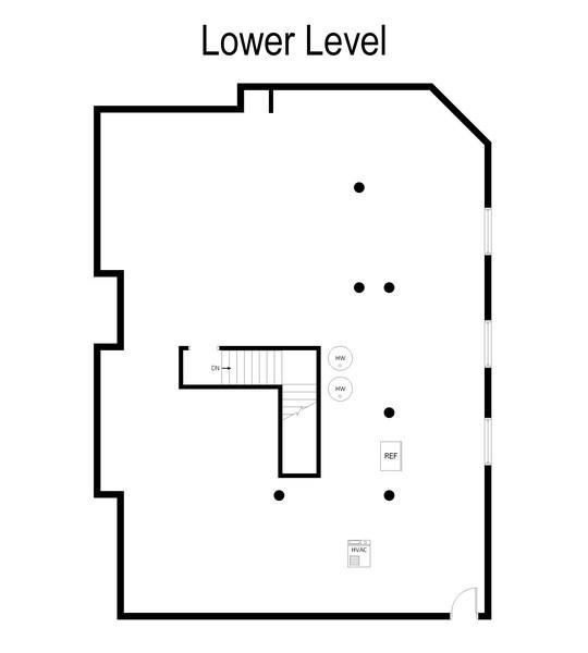 Real Estate Photography - 524 E WASHINGTON, Lake Bluff, IL, 60044 - Floor Plan