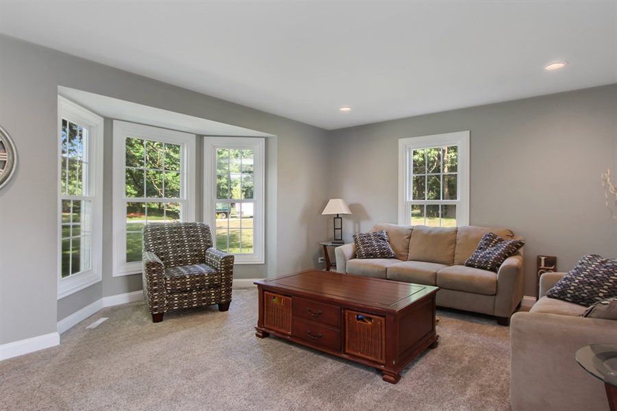 Real Estate Photography - 20553 N Weatherstone, Kildeer, IL, 60047 - Living Room