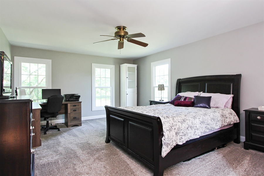 Real Estate Photography - 20553 N Weatherstone, Kildeer, IL, 60047 - Master Bedroom