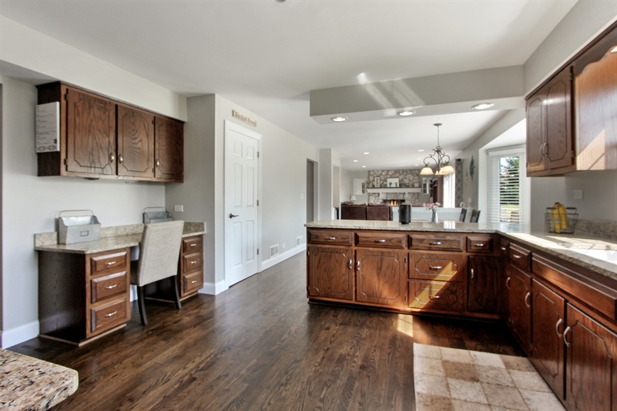 Real Estate Photography - 20553 N Weatherstone, Kildeer, IL, 60047 - Kitchen