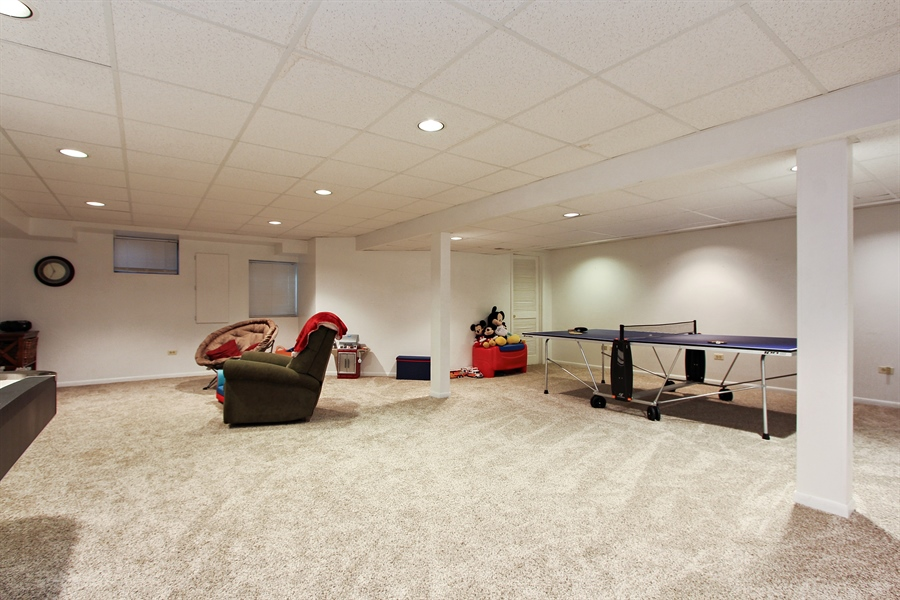 Real Estate Photography - 20553 N Weatherstone, Kildeer, IL, 60047 - Basement