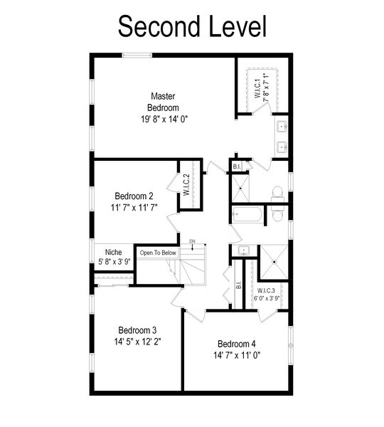 Real Estate Photography - 20553 N Weatherstone, Kildeer, IL, 60047 - Floor Plan