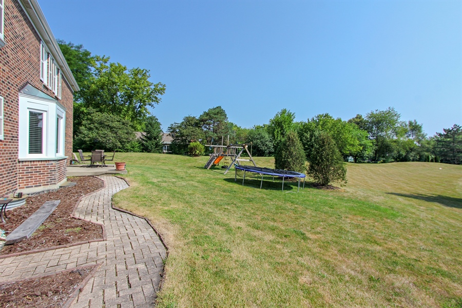 Real Estate Photography - 20553 N Weatherstone, Kildeer, IL, 60047 - Rear View