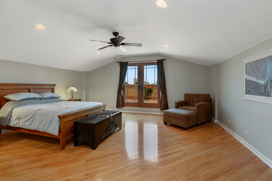 Real Estate Photography - 4913 N Ashland, Unit 3, Chicago, IL, 60640 - Master Bedroom