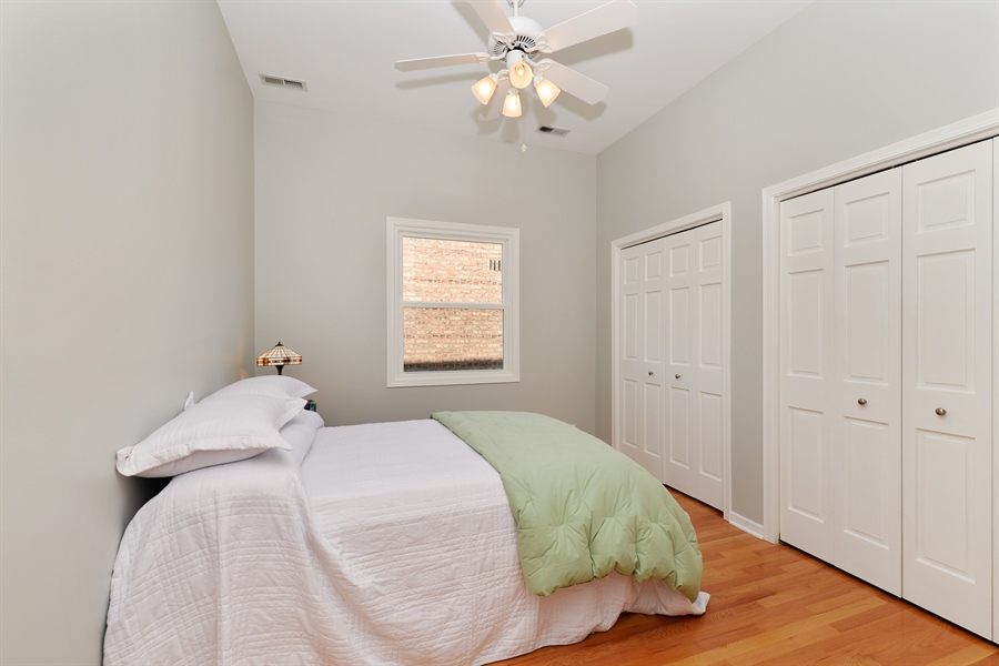 Real Estate Photography - 4913 N Ashland, Unit 3, Chicago, IL, 60640 - 3rd Bedroom