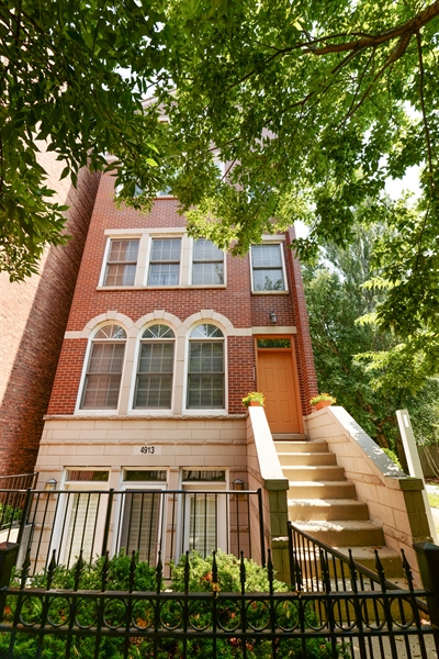 Real Estate Photography - 4913 N Ashland, Unit 3, Chicago, IL, 60640 - Front View
