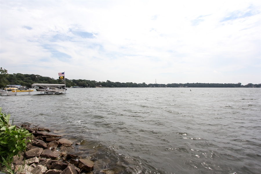 Real Estate Photography - 440 Old Rand Rd, Lake Zurich, IL, 60047 - Waterfront