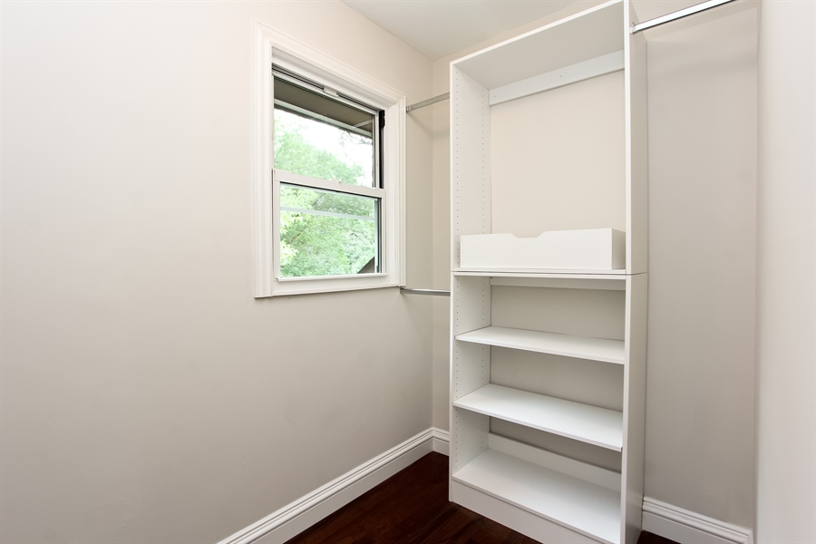 Real Estate Photography - 440 Old Rand Rd, Lake Zurich, IL, 60047 - Master Bedroom Closet