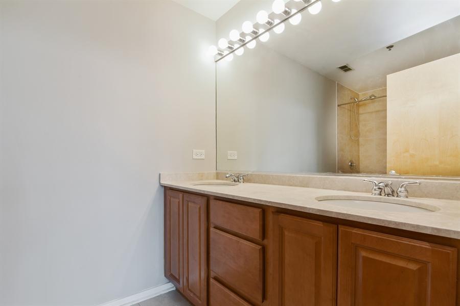 Real Estate Photography - 6 S Laflin, 413, Chicago, IL, 60607 - Master Bathroom