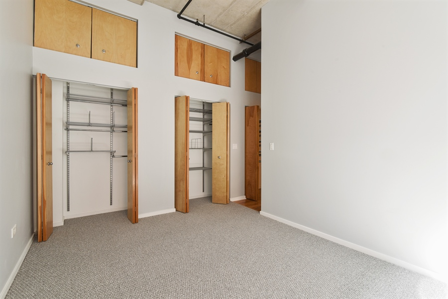 Real Estate Photography - 6 S Laflin, 413, Chicago, IL, 60607 - 2nd Bedroom