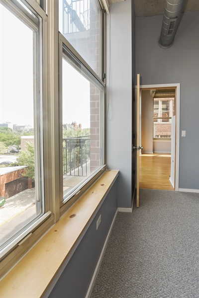 Real Estate Photography - 6 S Laflin, 413, Chicago, IL, 60607 - Master Bedroom