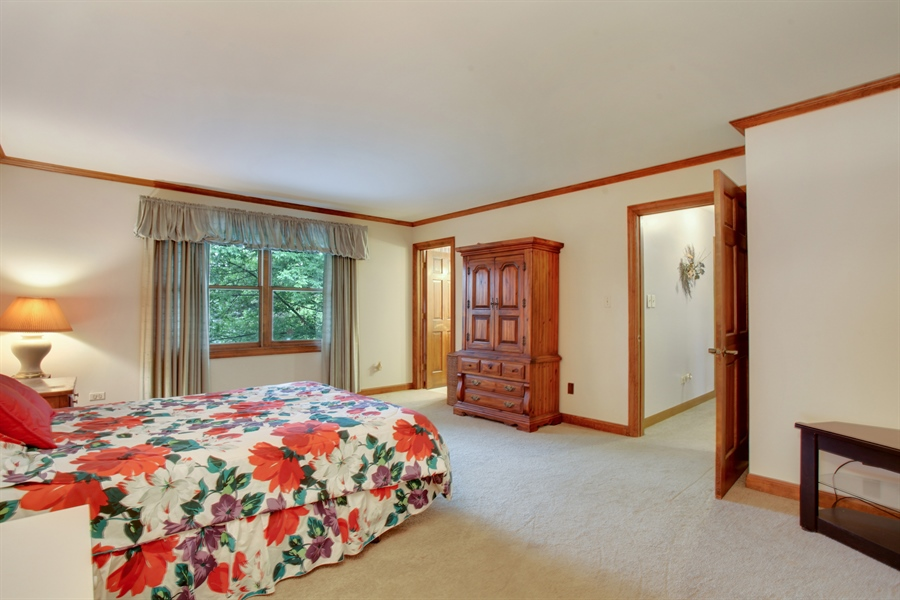 Real Estate Photography - 573 87th st, Burr Ridge, IL, 60527 - Master Bedroom