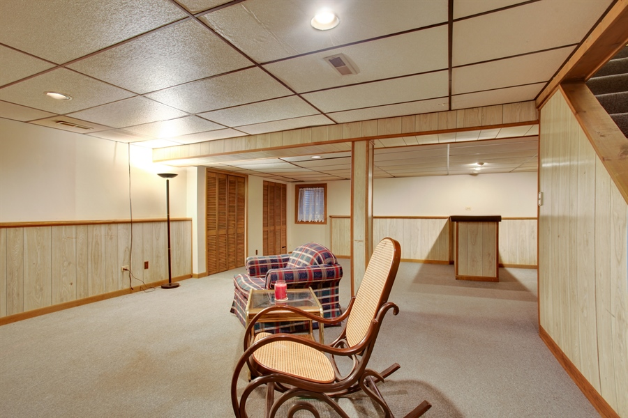 Real Estate Photography - 573 87th st, Burr Ridge, IL, 60527 - Basement