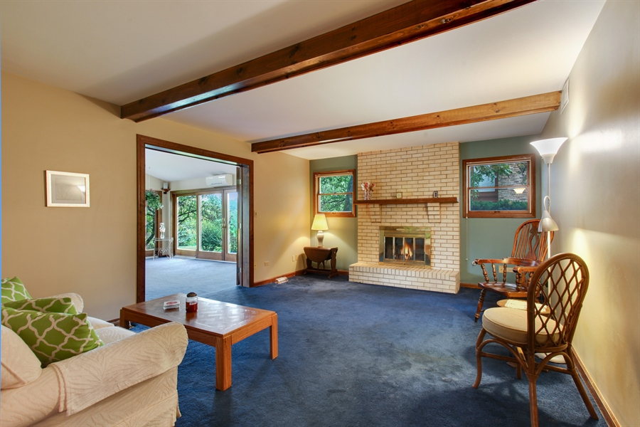 Real Estate Photography - 573 87th st, Burr Ridge, IL, 60527 - Family Room