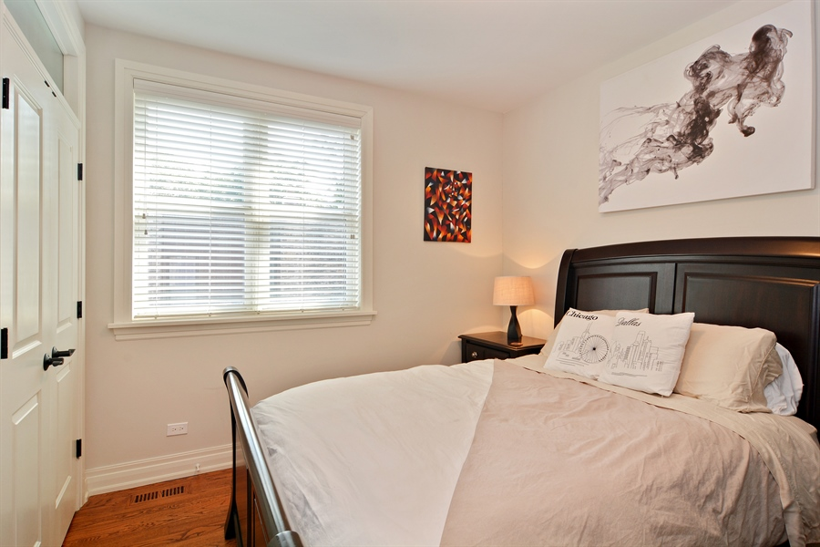 Real Estate Photography - 2848 N Sheffield, 3S, Chicago, IL, 60657 - 2nd Bedroom
