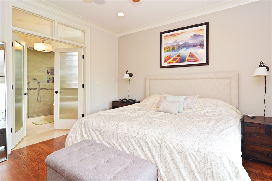 Real Estate Photography - 2848 N Sheffield, 3S, Chicago, IL, 60657 - Master Bedroom