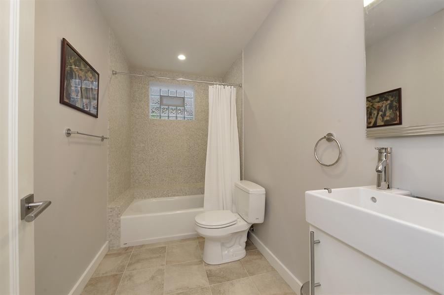 Real Estate Photography - 2550 W Cullom Avenue, Chicago, IL, 60618 - 3rd Bathroom