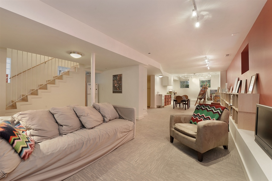 Real Estate Photography - 2550 W Cullom Avenue, Chicago, IL, 60618 - Lower Level