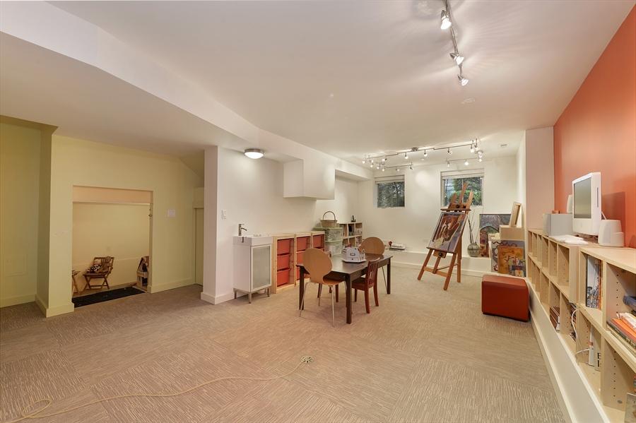 Real Estate Photography - 2550 W Cullom Avenue, Chicago, IL, 60618 - Recreation Room / Art Studio