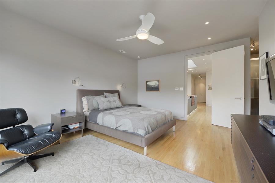 Real Estate Photography - 2550 W Cullom Avenue, Chicago, IL, 60618 - Master Bedroom