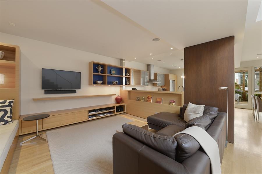 Real Estate Photography - 2550 W Cullom Avenue, Chicago, IL, 60618 - Family Room