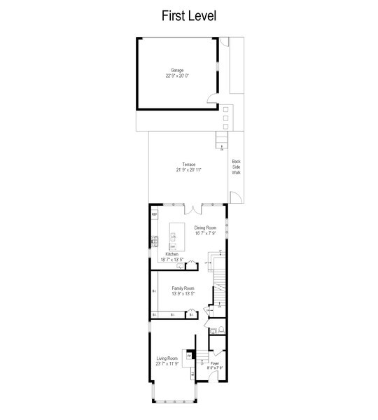 Real Estate Photography - 2550 W Cullom Avenue, Chicago, IL, 60618 - Floor Plan