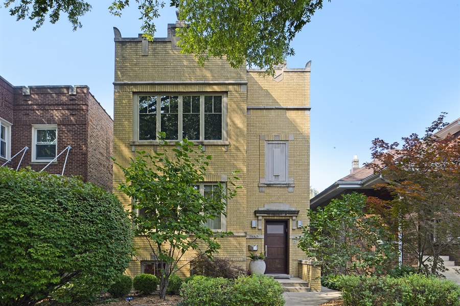 Real Estate Photography - 2550 W Cullom Avenue, Chicago, IL, 60618 - Front View