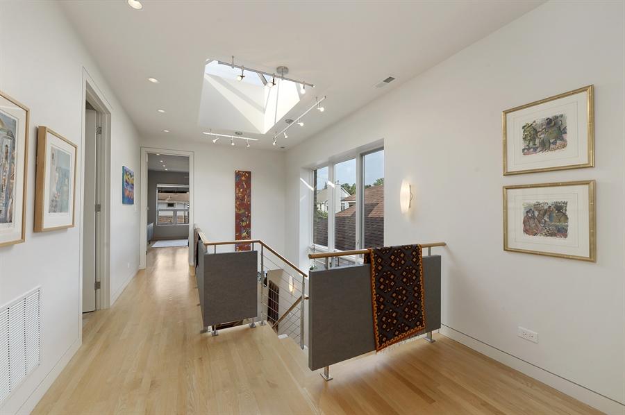 Real Estate Photography - 2550 W Cullom Avenue, Chicago, IL, 60618 - 2nd Floor Hallway