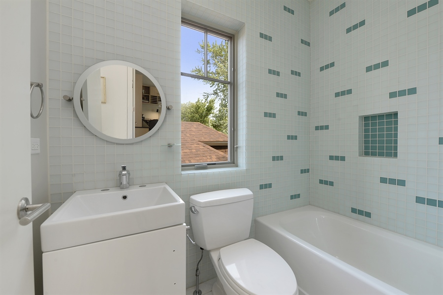 Real Estate Photography - 2550 W Cullom Avenue, Chicago, IL, 60618 - 2nd Bathroom