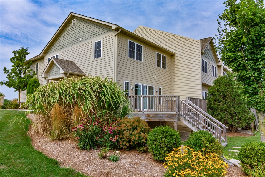 Real Estate Photography - 1150 Park Dr #905, Lake Geneva, WI, 53147 - Rear View
