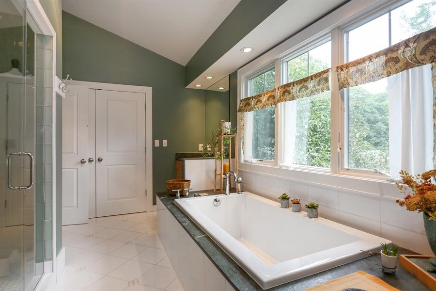 Real Estate Photography - 13724 Minnich, Sawyer, MI, 49125 - Master Bathroom