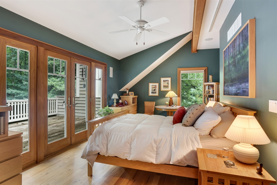 Real Estate Photography - 13724 Minnich, Sawyer, MI, 49125 - Master Bedroom