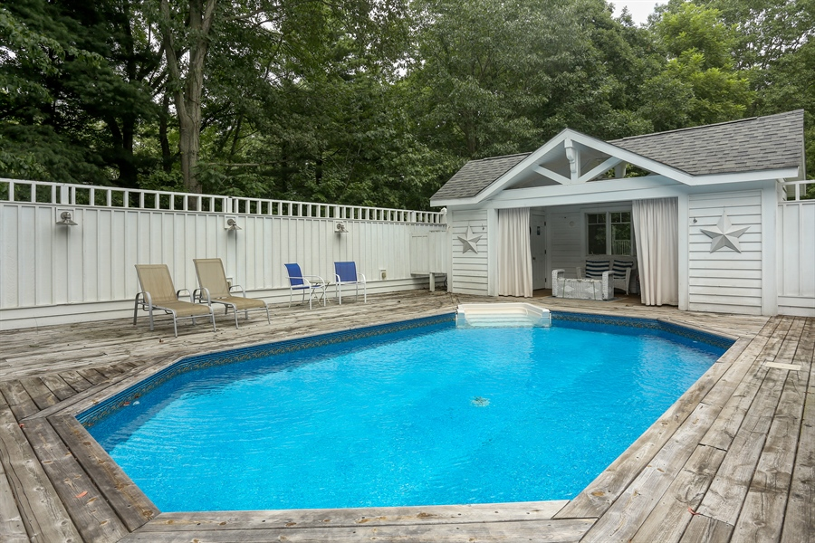 Real Estate Photography - 13724 Minnich, Sawyer, MI, 49125 - Pool