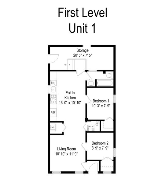 Real Estate Photography - 918 N Mozart, Chicago, IL, 60622 - Floor Plan